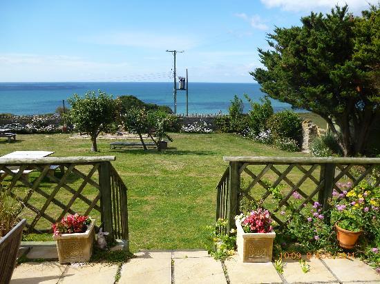 Burton Bradstock, UK: View from Lyme Bay Apartment