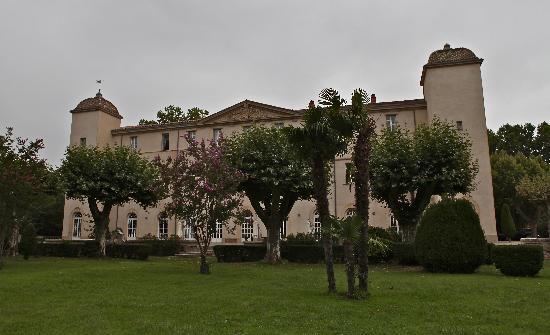 Château de Lignan : castillo hermoso