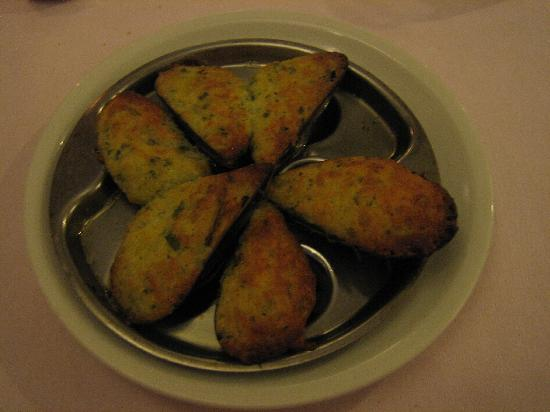 Cozze gratinate picture of restaurant stella d 39 oro for Stellas fish cafe menu