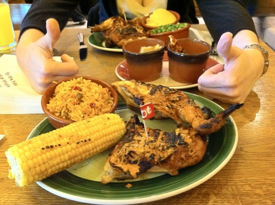Nando's Aberdeen - Union Square: tasty food!