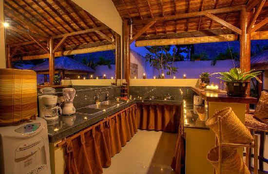 Villa Belharra: Cuisine Villa 2