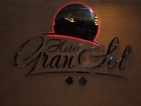 Hotel Gran Sol: Logo hotel, brillante