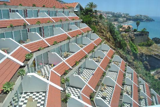 Orca Praia Hotel: vue des balcons