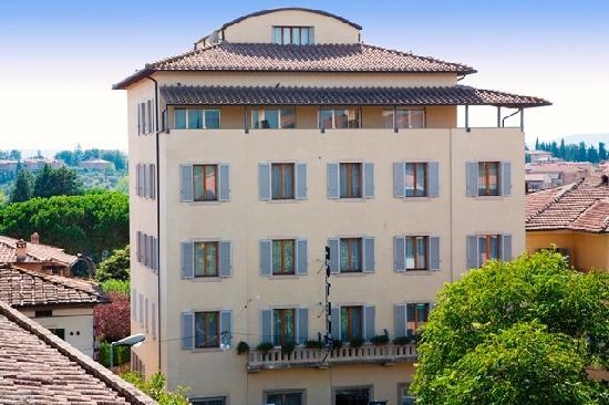 Building Hotel Italia Siena