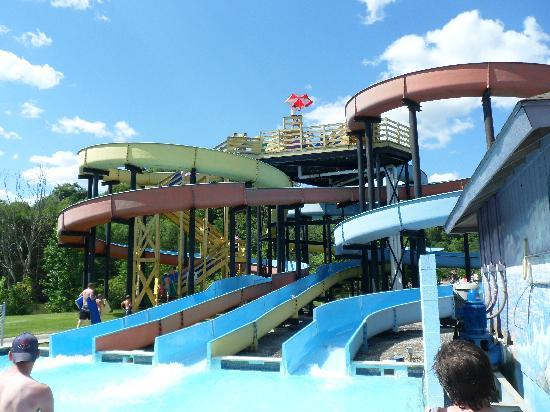Lakemont Park: water slides
