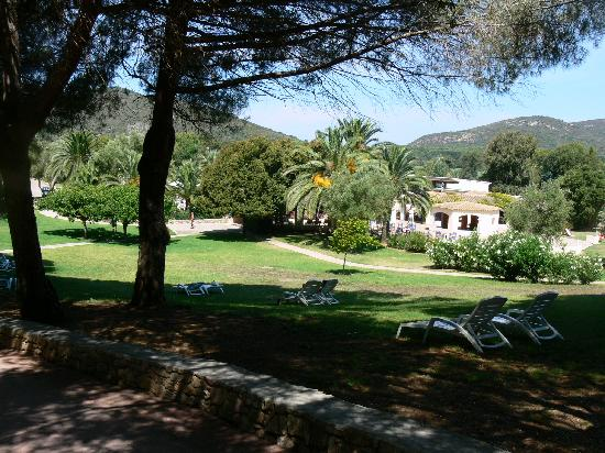Club Med Cargese: Le parc