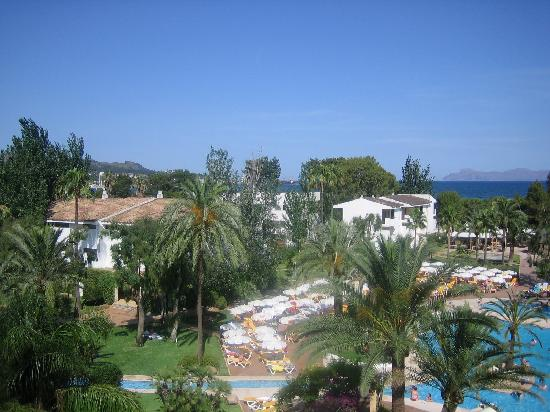 Iberostar Ciudad Blanca: the view from our balcony