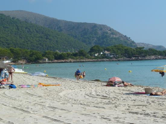 Lago Garden Hotel: Beach Cala Agulla