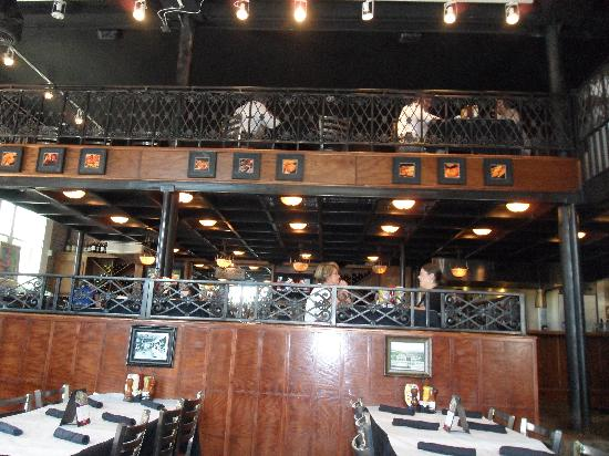 Dining room with loft - Picture of Half Shell Oyster House ...