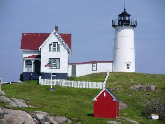 York (ME) United States  City pictures : York, ME, United States: fotografía de Cape Neddick Nubble Lighthouse ...