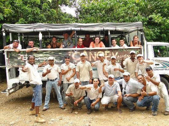 Canopy Adventure Zip Line Tours : Canopy Adventure Punta Cana