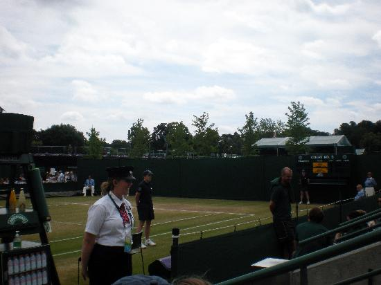 The All England Lawn Tennis Club: play