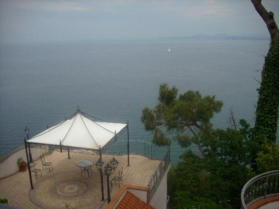 Hotel Myage : Sea view from terrace