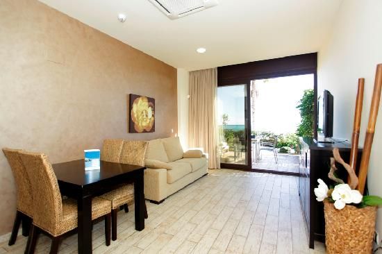 Apartamentos Pierre & Vacances Cala Cristal: Living room