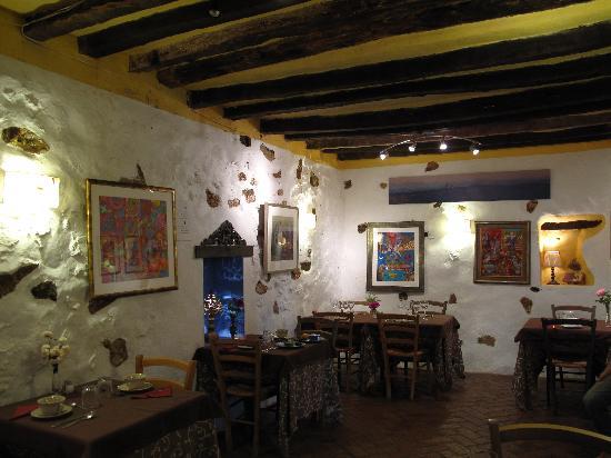 La Fructuosa: La salle du restaurant ( petit déjeuner )