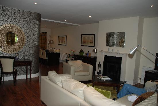 Kenmare Bay Holiday Homes & Lodges: Living Area
