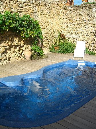 L'Ancienne Vigneronne : pool area