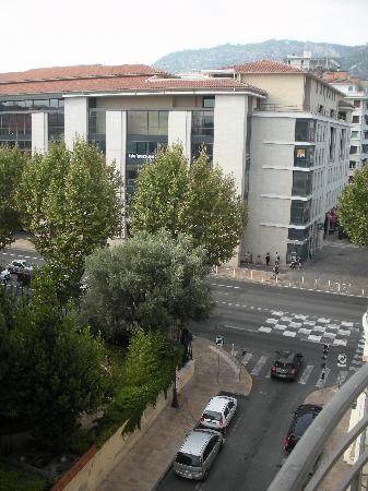 Hotel Amiraute: vue du balcon de la chambre