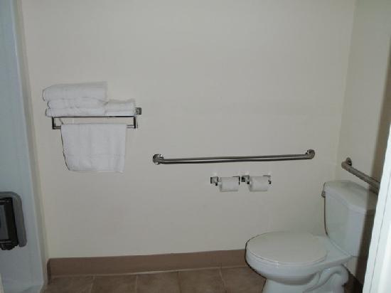 Magnuson Hotel East Sandusky : bathroom