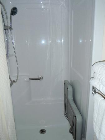 Magnuson Hotel East Sandusky : shower