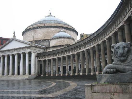 Неаполь, Италия: piazza del Plebiscito