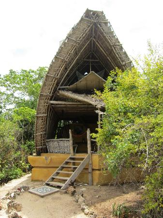 Chumbe Island Coral Park: Our accommodation