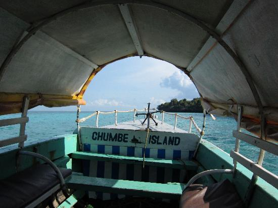 Chumbe Island Coral Park: Arriving at Chumbe