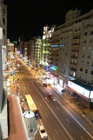 Hospedaje Romero : Vistas Gran Vía