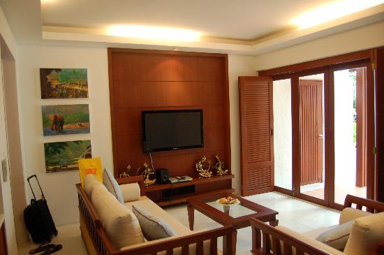 Villa Elisabeth: notre chambre avec jaccuzi