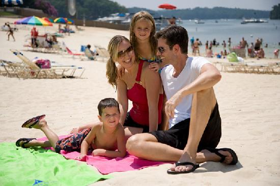 Buford, GA: Enjoy the white, sandy beach LanierWorld's Big Beach