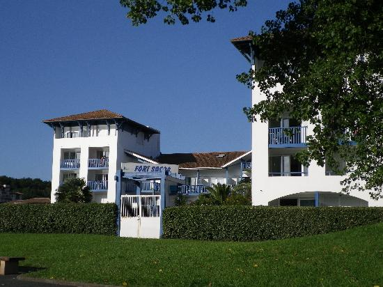 Residence mer golf fort socoa urrugne pays basque for Hotels urrugne