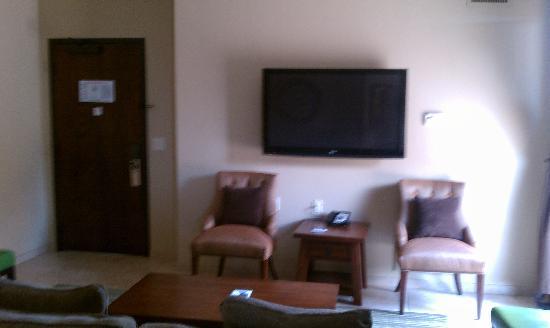 The Oread: Living Room