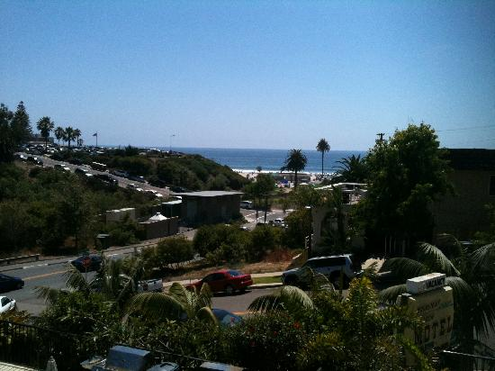 Moonlight Beach Motel: View from our room