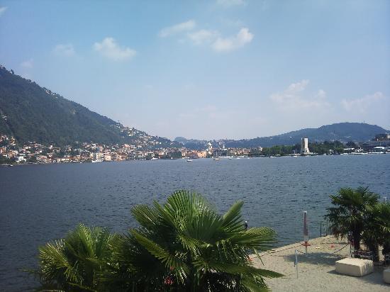 Vista Sul Lago Picture Of Lido Villa Olmo Como