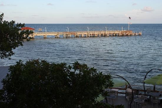 Corner of the Deck - Picture of Louie's Backyard, Key West ...