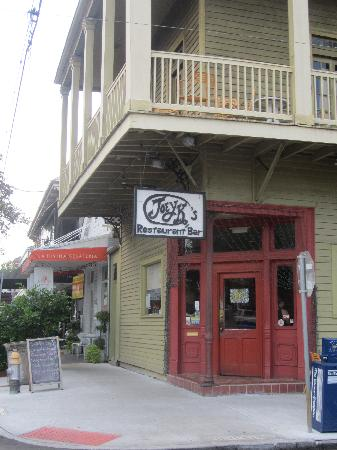 Location In Lower Garden District Picture Of Joey K 39 S Restaurant Bar New Orleans Tripadvisor