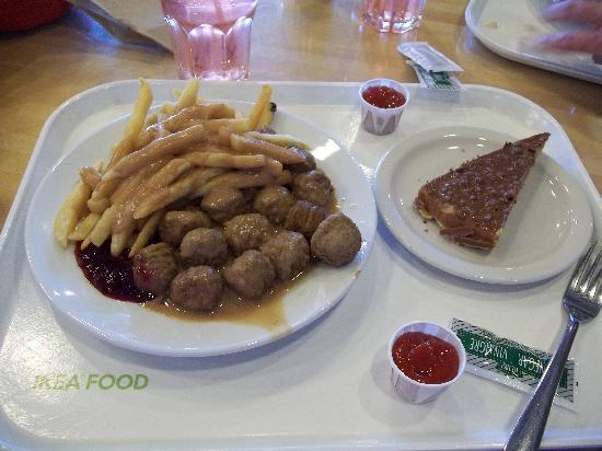IKEA Swedish cafe : Ikea Meatball Dinner