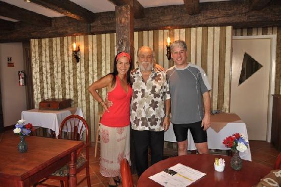 Auberge l'île de France : Phillipe et nous