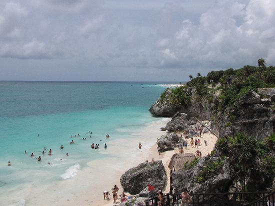 Hacienda Tres Rios: beach at Tulum