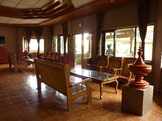 Kumudara Hotel Bagan: Lobby at Kumudara