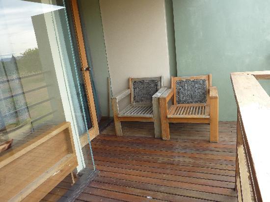 Kumudara Hotel Bagan: Our balcony
