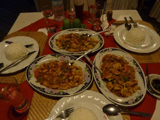 Kumudara Hotel Bagan: Food at the Kumudara