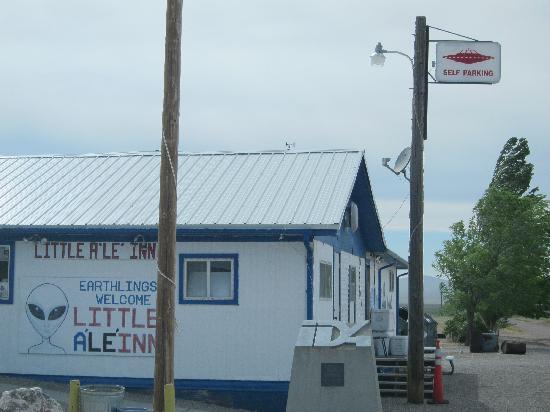 Little A'Le'Inn: Office/Bar/Restaurant