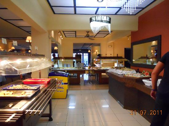 Hersonissos Palace Hotel : Food Area of Dining Room