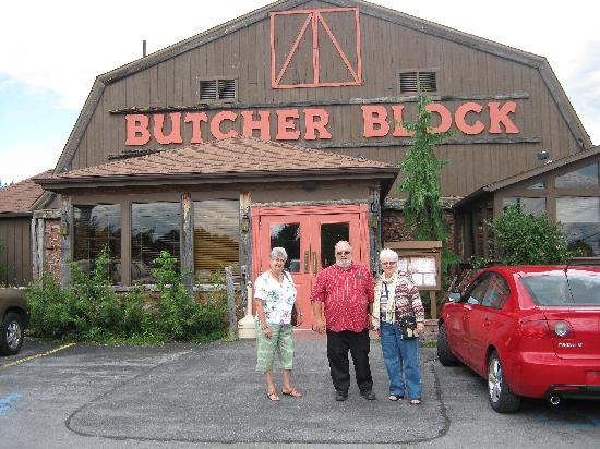 Butcher Block Restaurant After A Great Lunch