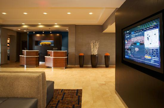 Courtyard by Marriott Louisville Airport: The GoBoard™ is an interactive touch screen display that gives you access to news, weather and l