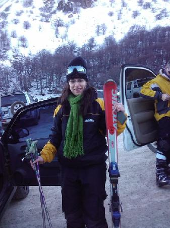 meridies - explore Argentina: Mi hija lista para esquiar