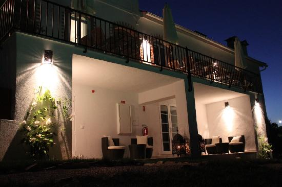 Casa nas Serras by night