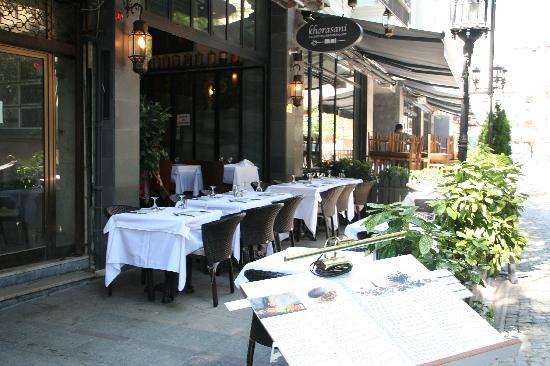 Khorasani Restaurant: Außenansicht