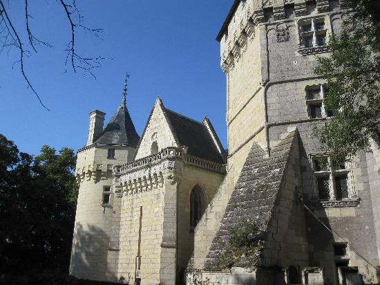 Chateau de Ternay: View from back